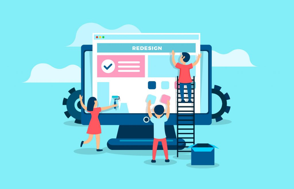 Redesigning your website can help you improve your conversions.